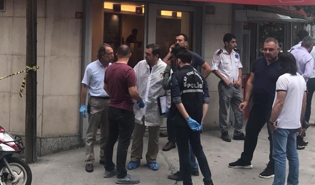 Şişli'de silahlı banka soygunu: 1 yaralı