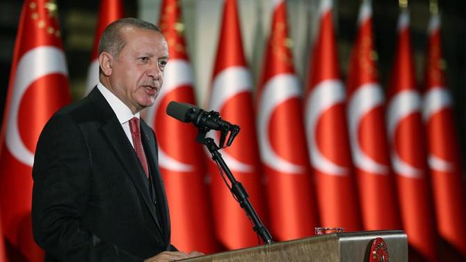 Erdoğan'dan 'Ertuğrul Gazi'yi Anma' mesajı
