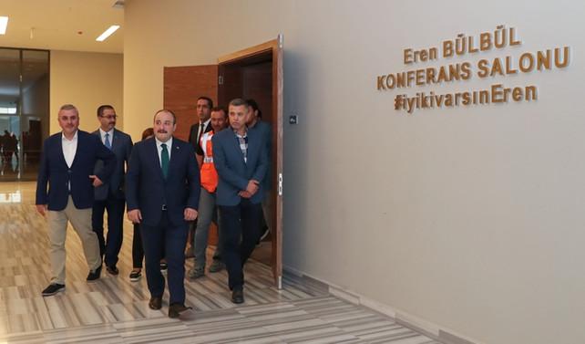 Bakan Varank, Bilişim Vadisi'ni ziyaret etti