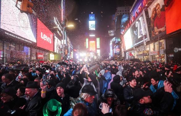 New York, yeni yıla basın özgürlüğü temasıyla girdi