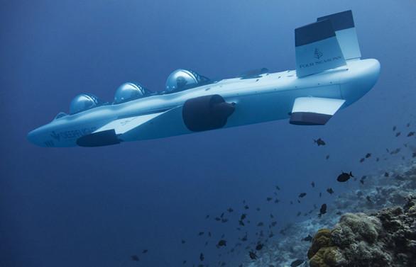 Turizmde yeni moda: Denizaltı ile tur