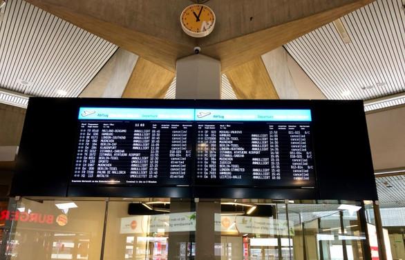 Almanya'da grev: 642 uçuş etkilendi