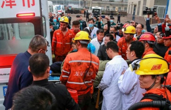 Çin'de maden kazası: 21 ölü