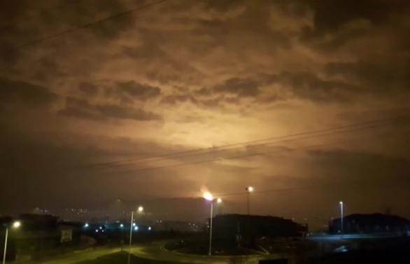 Sakarya'da doğal gaz boru hattında patlama