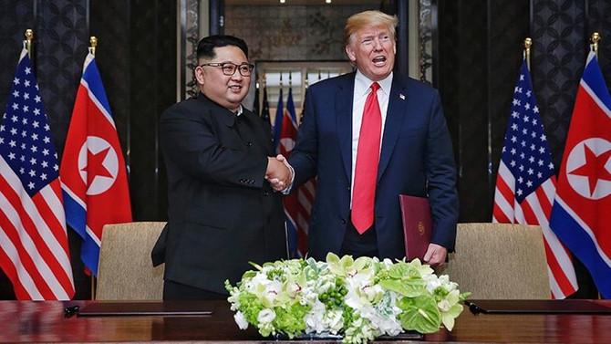 Trump ile Kim Jong-un şubat ayında görüşecek