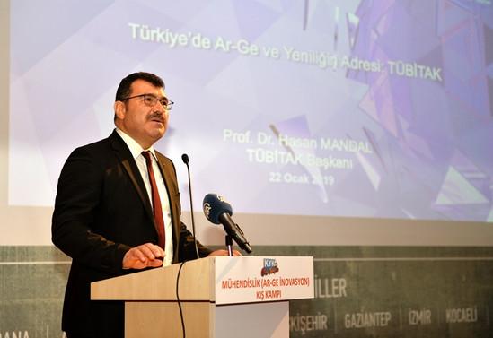 Mandal: TÜBİTAK'ın projeleri destekleme tutarı 1,9 milyar lira