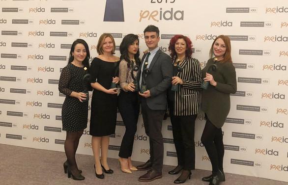 İz İletişim Prida'dan 4 ödülle döndü