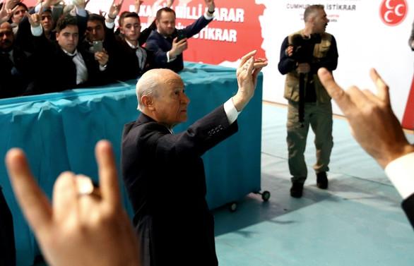 Bahçeli: Güvenli bölgenin kontrolü Türkiye'de olmalı
