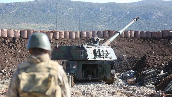 TSK Suriye'de YPG'yi obüslerle vurdu