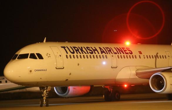 Süleymaniye'ye ilk uçak seferi gerçekleşti