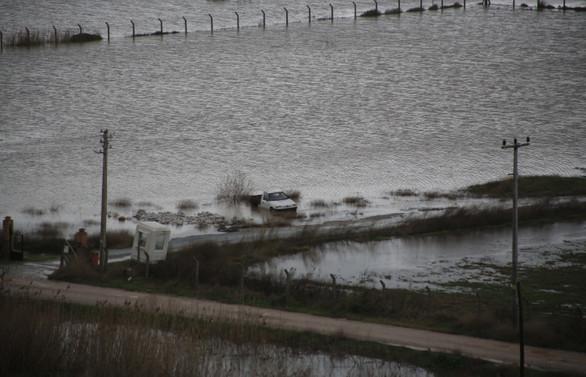 Balık havuzlarını sel bastı, 120 bin çipura kaçtı