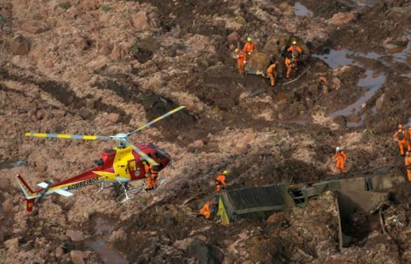 Brezilya'da ölü sayısı 40'a ulaştı, 300 kişi kayıp