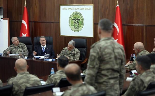 Akar: Mehmetçik provokasyonları boşa çıkardı