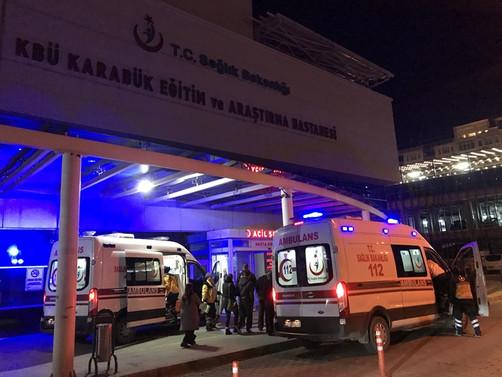 Fabrikadan yayılan gazdan etkilenen 8 kişi hastaneye kaldırıldı