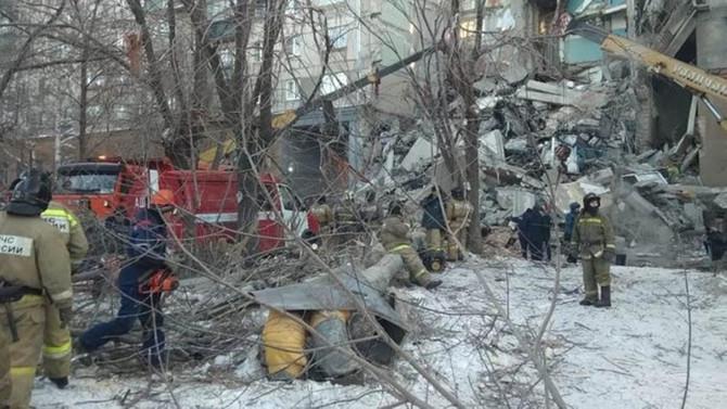 Rusya'daki gaz patlamasında ölü sayısı 39'a çıktı