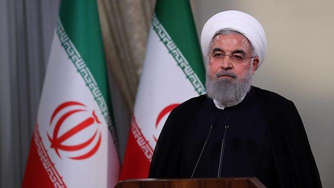 Ruhani: Devrimden sonraki en büyük ekonomik baskıyla karşı karşıyayız