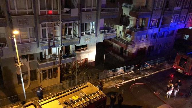 Ankara'da doğal gaz patlaması: 5 yaralı
