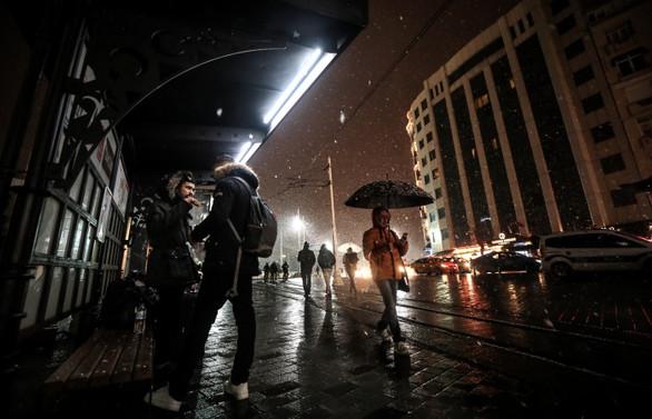 İstanbul'da aralıklarla kar yağışı bekleniyor