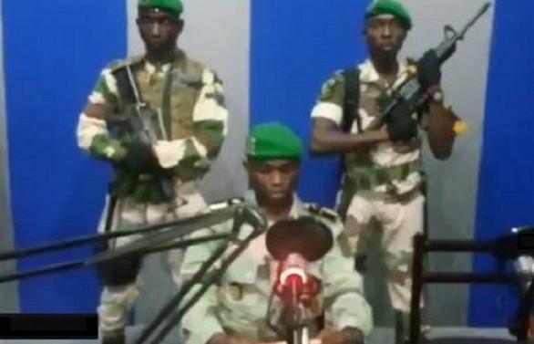 Gabon'da darbe girişimi