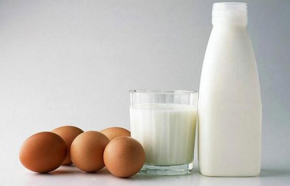 Süt üretimi geriledi, yumurta üretimi arttı