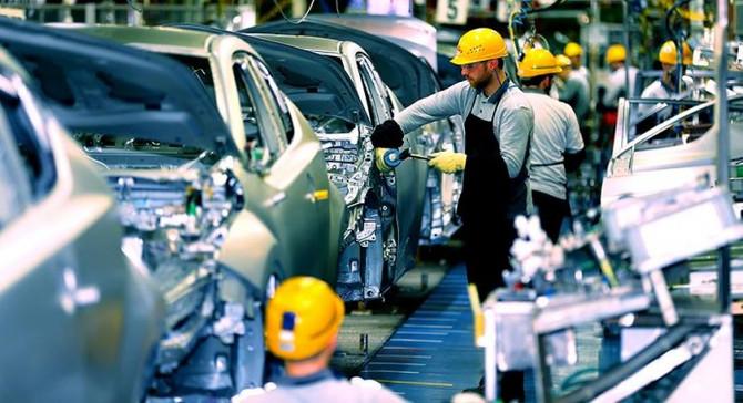 Euro Bölgesi'nde sanayi üretimi ağustosta arttı