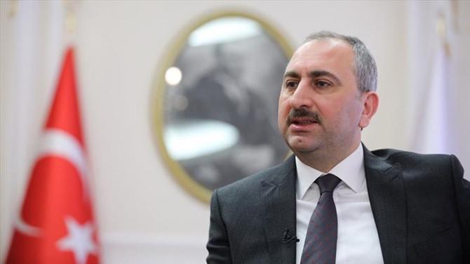 Adalet Bakanı Gül'den Halkbank açıklaması