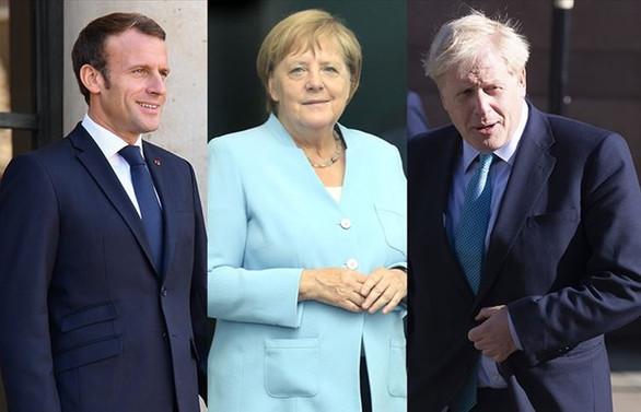 Macron, Merkel ve Johnson Erdoğan'la görüşme kararı aldı