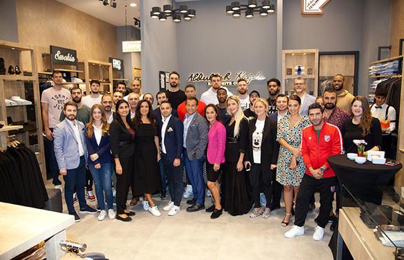 Abdullah Kiğılı Exclusive Cut yeni mağazasını açtı