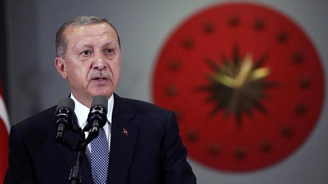 Erdoğan'dan Cumhuriyet Bayramı mesajı