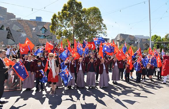 Avustralya'da Cumhuriyet Bayramı coşkusu