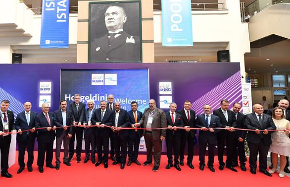 """14. Uluslararası """"ISK-SODEX"""" fuarı başladı"""