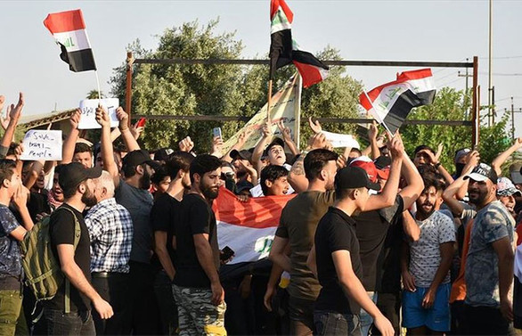 Irak'taki gösterilerde ölü sayısı 100'e yükseldi