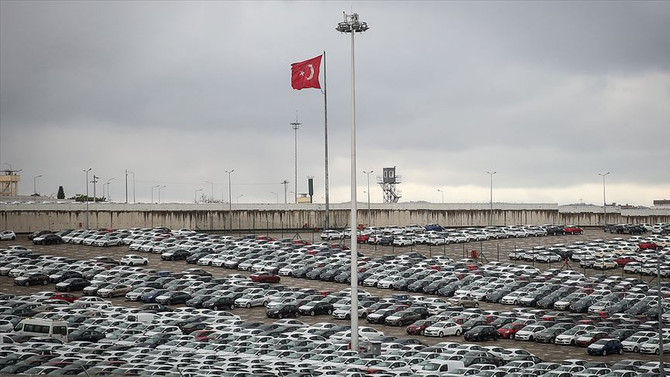 Otomotiv ihracatı eylülde 2,6 milyar dolar