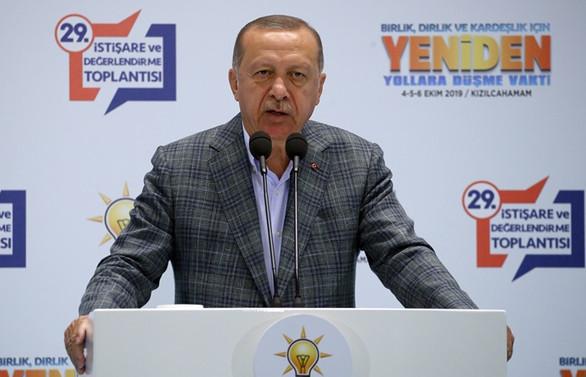Erdoğan: Millet yüzde 51,5 ile yeni sistemi kabul etmiş