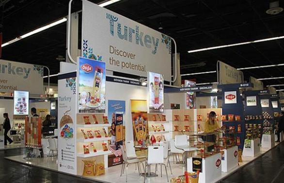 Türkiye, 315 firmayla Anuga Fuarı'nda