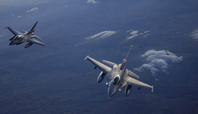 Pentagon: Türkiye, Suriye'de hava görev emrinden çıkarıldı