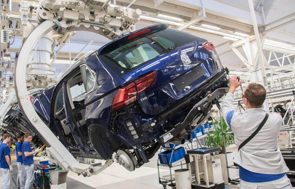 Almanya'da sanayi üretimi ağustosta arttı