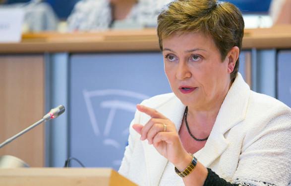 Georgieva: Küresel ekonomi senkronize yavaşlama ile karşı karşıya