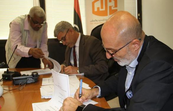 Libya'nın çelik devine Türk imzası