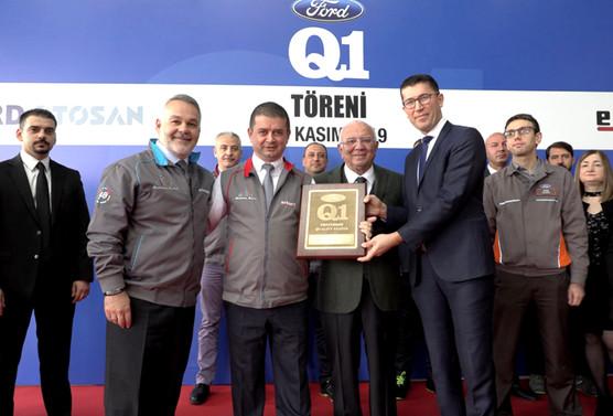 Erkurt Holding, Ford'un Q1 belgesini üçüncü kez aldı