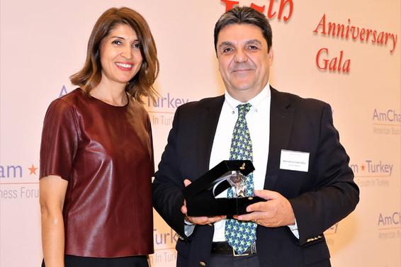Yeşim'e Amerikan Şirketler Derneği'nden ödül