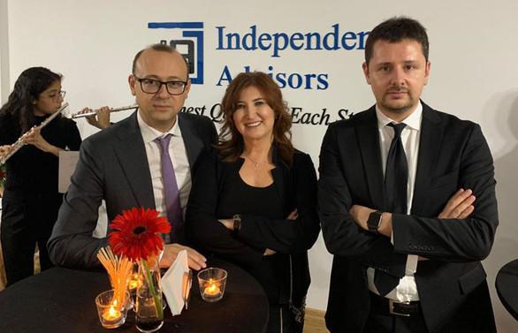 Independent Advisors, İstanbul ofisini açtı