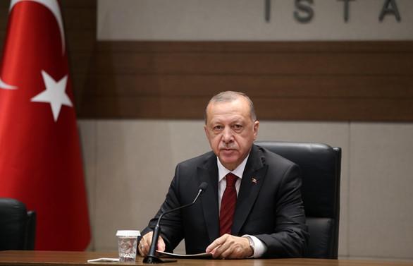 Cumhurbaşkanı Erdoğan'dan 'kadına karşı şiddetle mücadele' paylaşımı