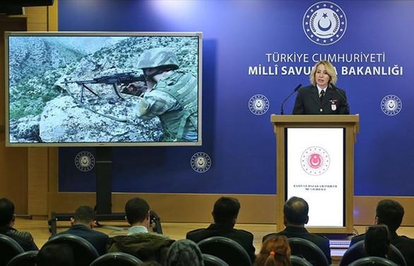 MSB: Pençe operasyonlarında 163 terörist etkisiz hale getirildi