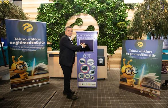 Turkcell, elektronik atıklarla eğitime kaynak sağlayacak