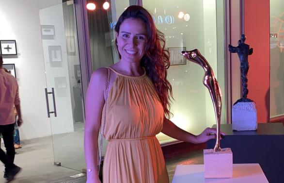 Melda Akın, bu kez heykelleriyle Türk kadınını temsil etti