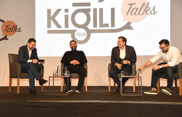 Kiğılı Talks zirvesi, girişimin liderlerini ağırladı
