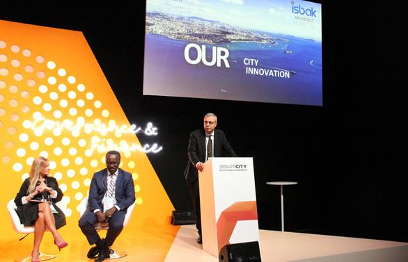İstanbul'un akıllı şehir vizyonu Barselona'da anlatıldı