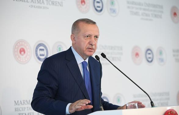 Erdoğan'dan Macron'a NATO tepkisi