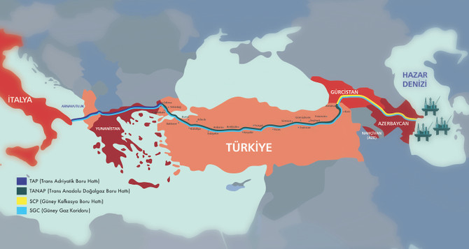 Azerbaycan gazı Avrupa Kapısı'na dayandı